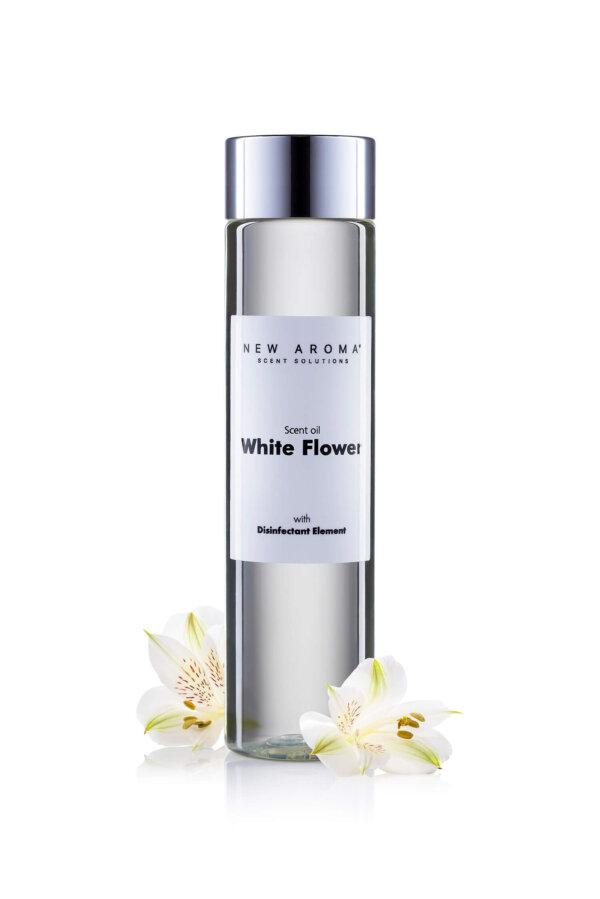 White flower dezinfekcny aroma olej