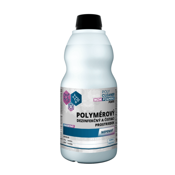 poly cleaner non foaming